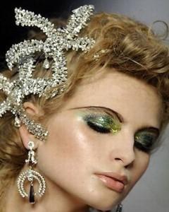Модный новогодний макияж 2017 года  фото (28)