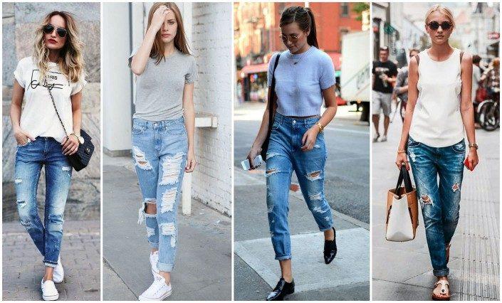джинсы бойфренды фото (1)