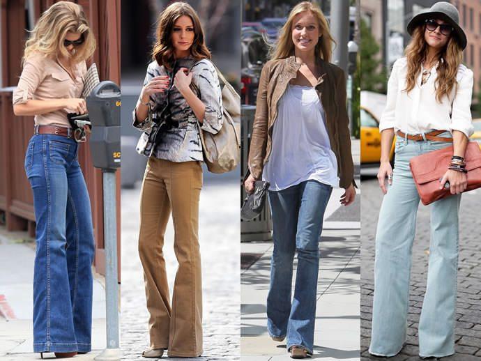 джинсы клеш фото (3)