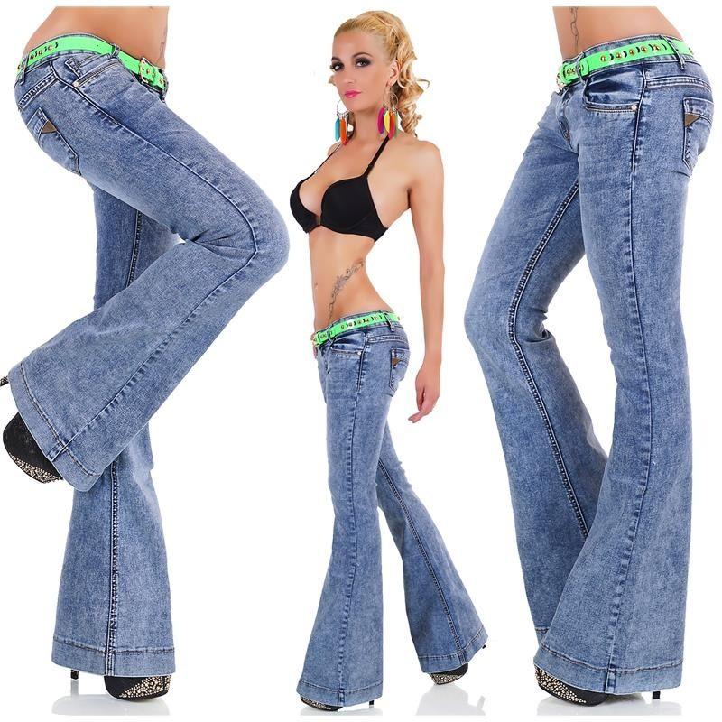 джинсы клеш фото (5)