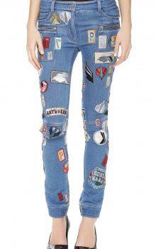 джинсы с латками фото (1)