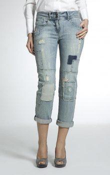 джинсы с латками фото (14)