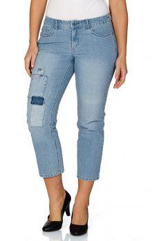 джинсы с латками фото (5)