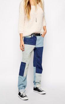 джинсы с латками фото (6)