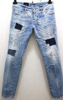 джинсы с латками фото (9)