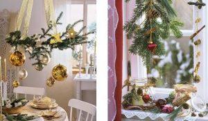 Новогодние подвесные композиции своими руками - Lance-lot.ru