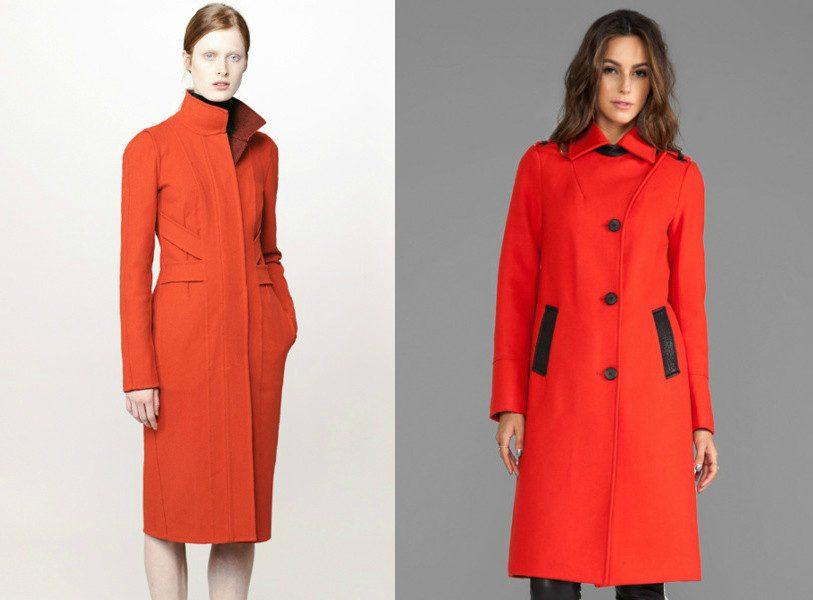 модные цвета пальто 2016-2017 фото (13)