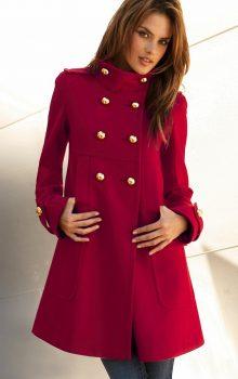 модные цвета пальто 2016-2017 фото (24)