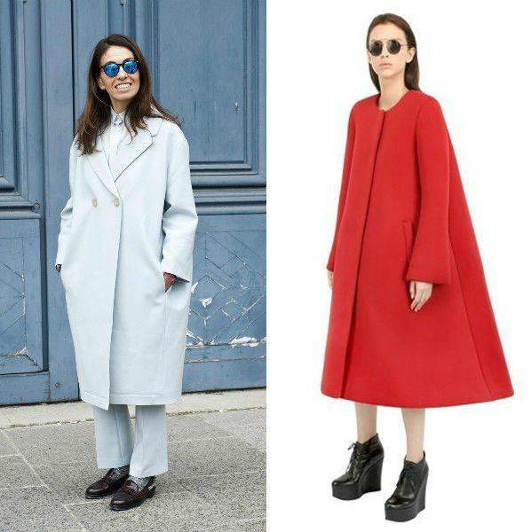 модные цвета пальто 2016-2017 фото (36)