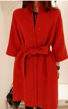 модные цвета пальто 2016-2017 фото (5)