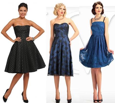 модные коктейльные платья 2017 фото (13)