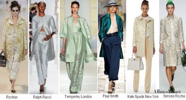 модные пальто из блестящей ткани фото (10)