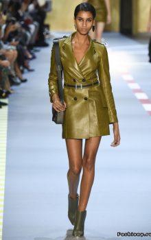 модные пальто из блестящей ткани фото (3)
