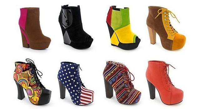 Стильная модная женская обувь