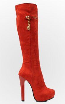 модные сапоги на каблуке фото (12)