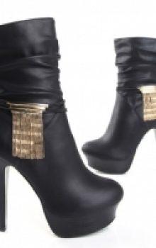 модные сапоги на каблуке фото (14)