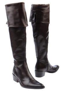 модные сапоги на каблуке фото (6)