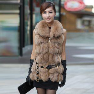 модные жилеты меховые фото (30)