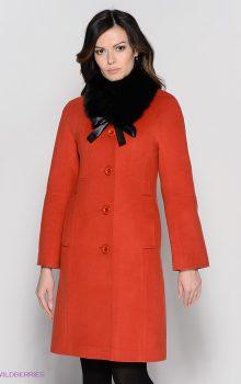 пальто с меховой гаржеткой фото (4)
