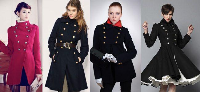 пальто в стиле милитари фото (10)