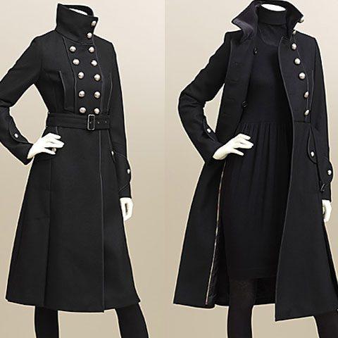 пальто в стиле милитари фото (15)