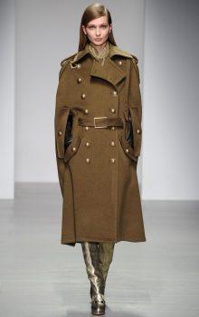 пальто в стиле милитари фото (5)