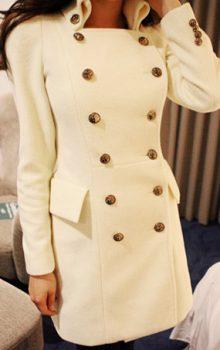 пальто в стиле милитари фото (7)