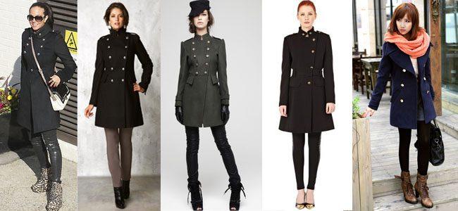 пальто в стиле милитари фото (9)