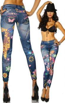 принты на джинсах фото (5)