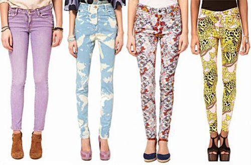 принты на джинсах фото (6)