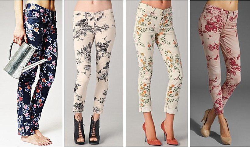 принты на джинсах фото (8)