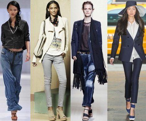 с чем носить джинсы в 2017 фото (5)