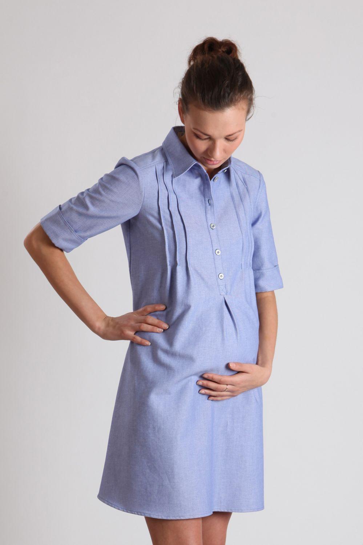 Фасоны платья рубашки для беременных