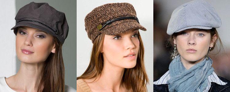Женские модные кепки 2017