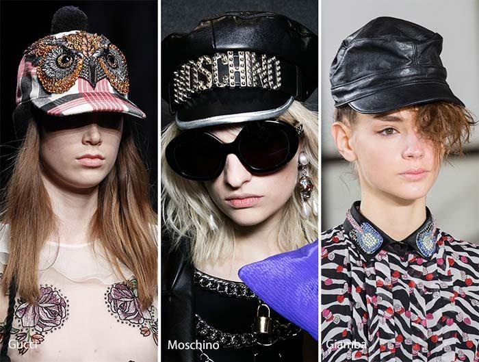 модные кепки, шляпы, береты 2017 фото (4)