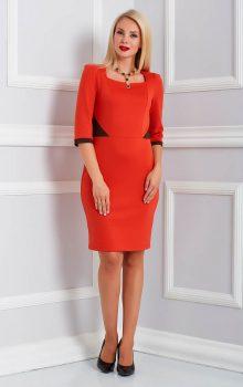 модные офисные платья 2017 фото (11)