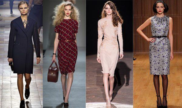 модные офисные платья 2017 фото (19)