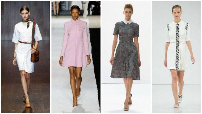 модные офисные платья 2017 фото (4)