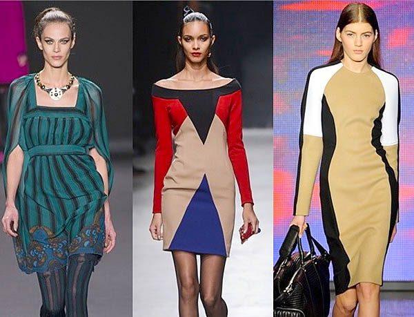 модные платья из трикотажа 2017 фото (3)