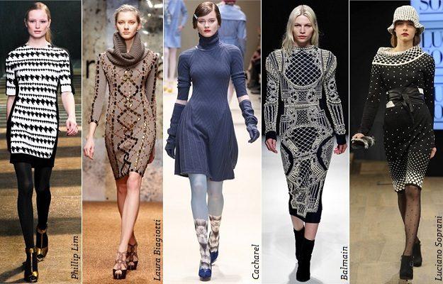 модные платья из трикотажа 2017 фото (9)