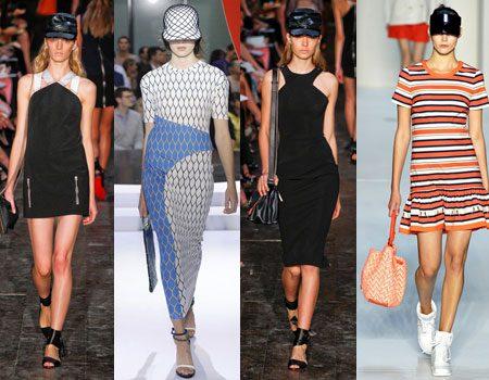 модные платья спортивного стиля 2017 фото (15)