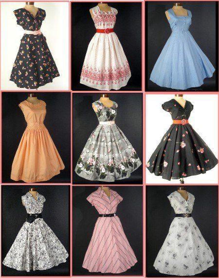 модные ретро платья 2017 фото (1)