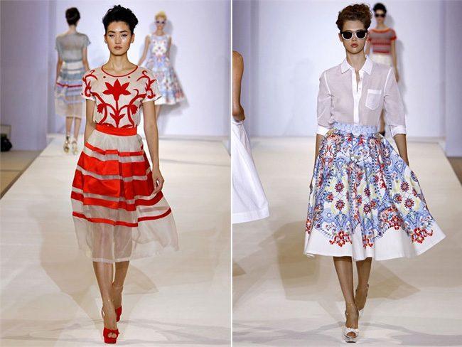 модные ретро платья 2017 фото (7)