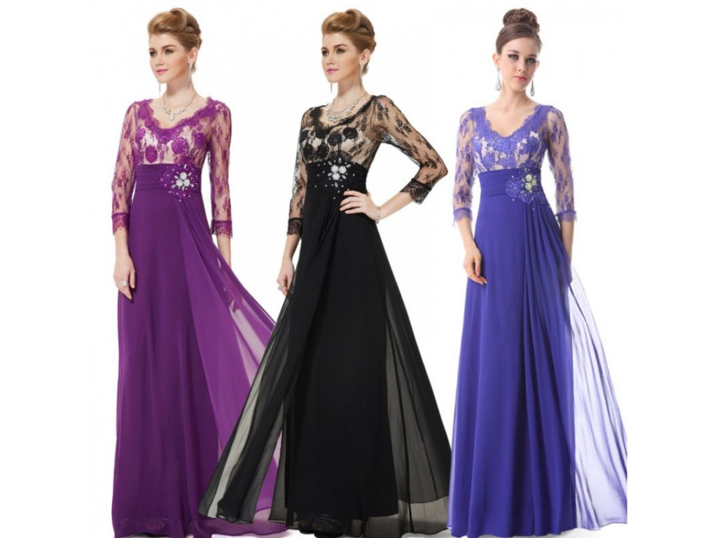 модные шифоновые платья 2017 фото (12)
