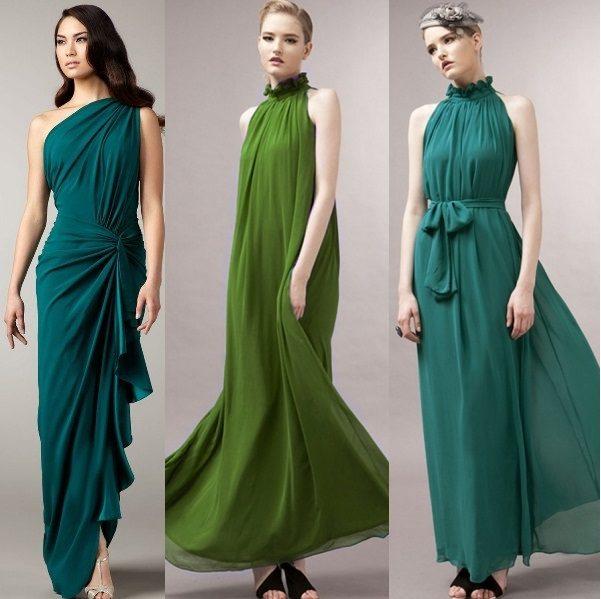 модные шифоновые платья 2017 фото (14)