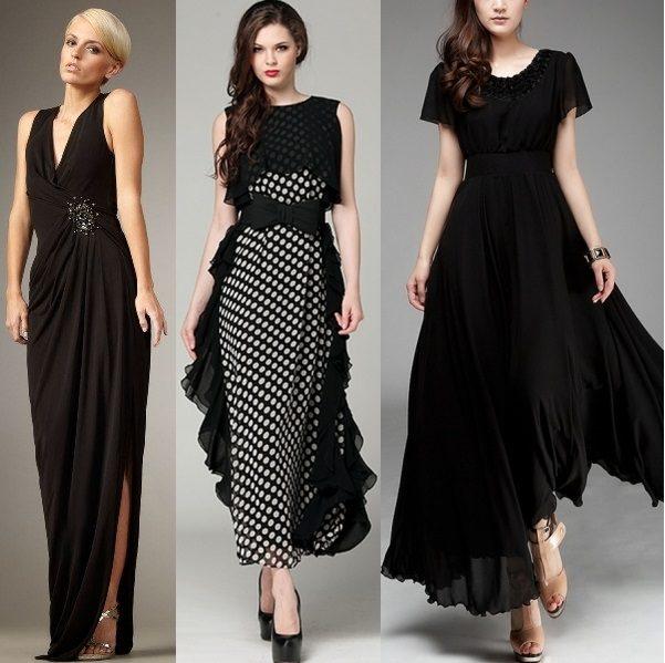 модные шифоновые платья 2017 фото (15)