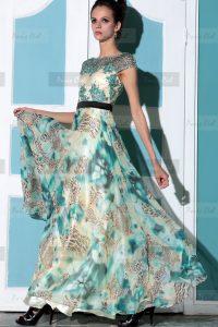 модные шифоновые платья 2017 фото (17)