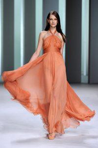 модные шифоновые платья 2017 фото (25)