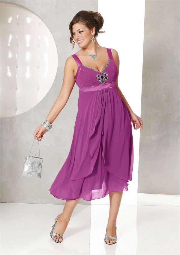 Вечернее платье большого размера своими руками