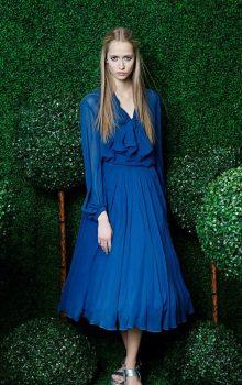 модные шифоновые платья 2017 фото (31)